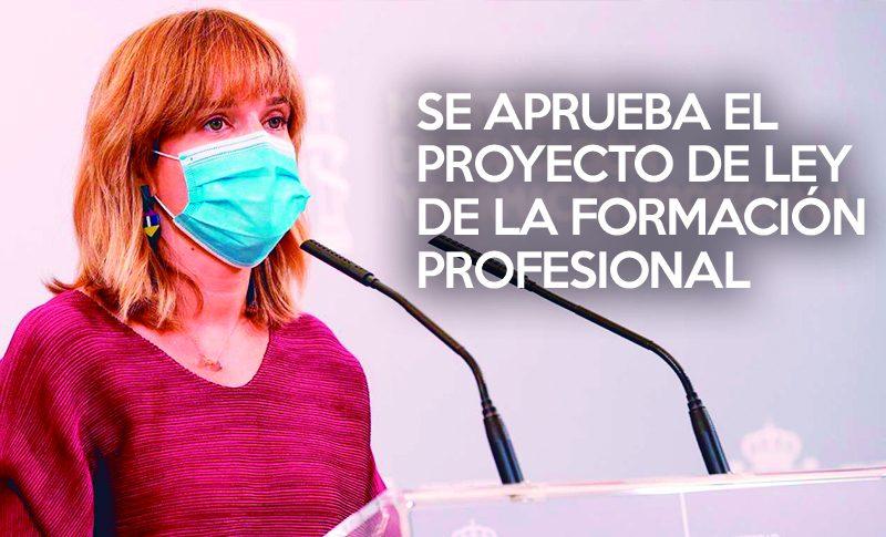 Se aprueba el proyecto de Ley de la Formación Profesional